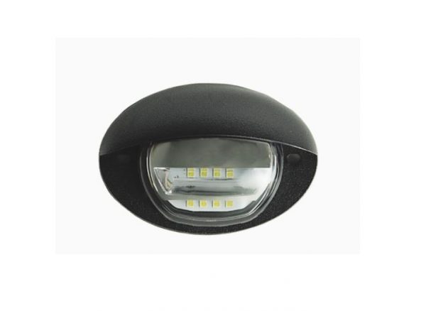 4 Oval Curb Entry Light