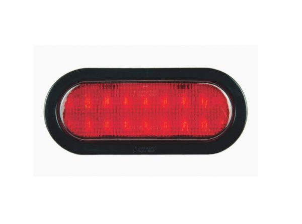 6 Oval LED Signal Light